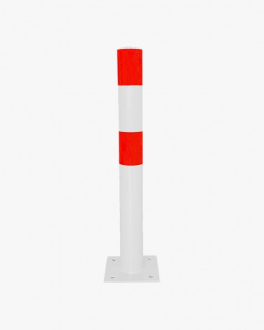 Industrial flexible bollards to fix
