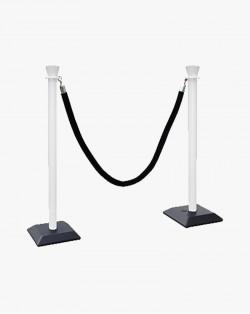 Poteau à corde PVC